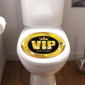 Sticker abattant toilette