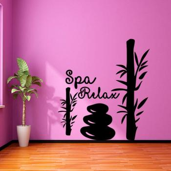 Sticker Bambou SPA relax