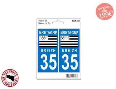 Autocollant Sticker plaque