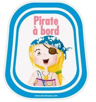 Bébé à bord pirate Lily