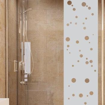 Sticker porte de douche petites