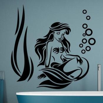 Sticker Salle de bain Une