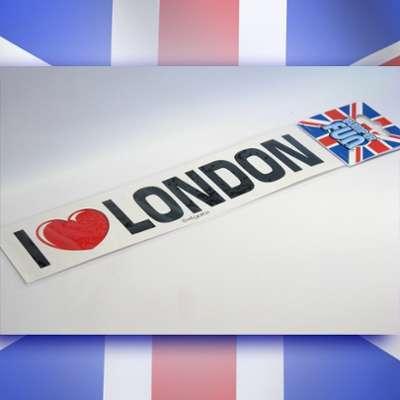 Sticker I love London