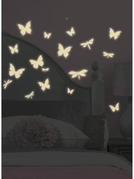 Stickers Papillons et Libellules