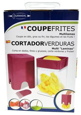 Coupe frites et légumes multilames