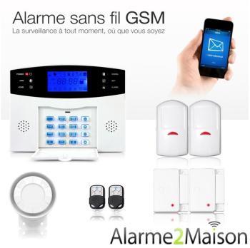 Alarme Maison Sans fil GSM