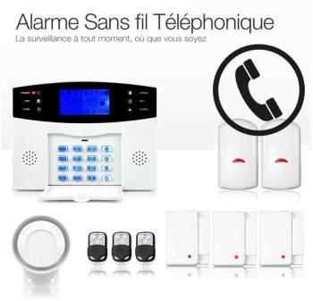 Alarme Maison Sans fil Téléphonique