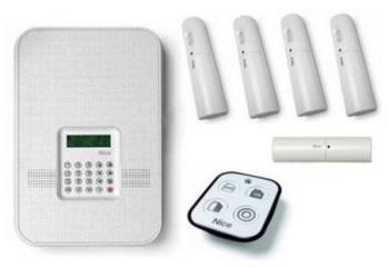Kit alarme pour 4 ou 5 pièces