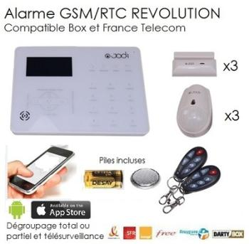 Recherche centrale alarme du guide et comparateur d 39 achat for Alarme maison securite good deal