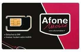 Carte SIM AFONE SOMFY pour