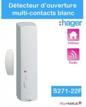 Détecteur d ouverture multi-contacts