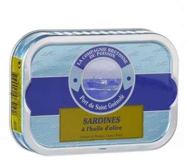Sardines entières à l huile