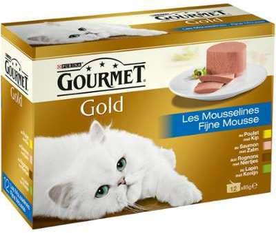 Pâtée pour chats Gold les