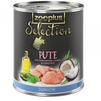 Zooplus Selection Junior dinde