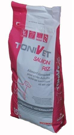 Tonivet Adulte saumon et riz