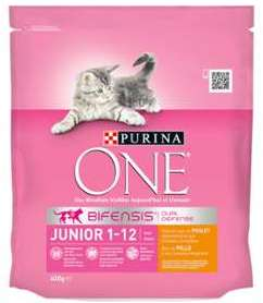 Croquettes pour chat One Junior