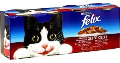 Pâtée pour chat b uf volaille