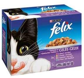 Pâtée pour chats émincés en