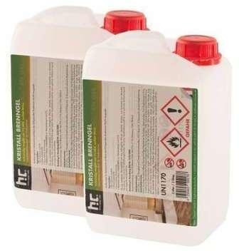 Bioéthanol en gel 6 x 3 L