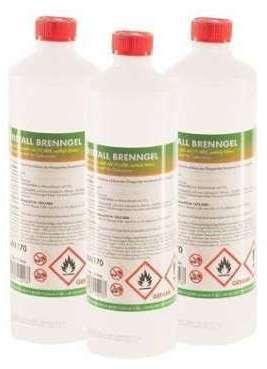 Bioéthanol en gel 60 x 1 L