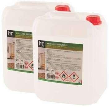 Bioéthanol en gel 2 x 10 L