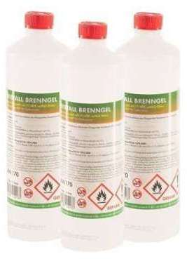 Bioéthanol en gel 90 x 1 L