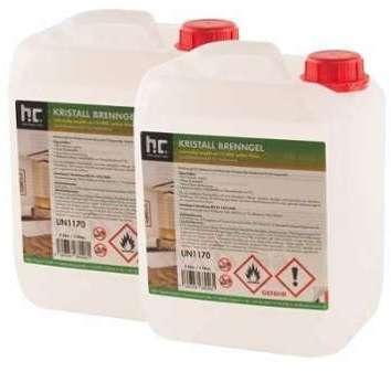 Bioéthanol en gel 2 x 5 L