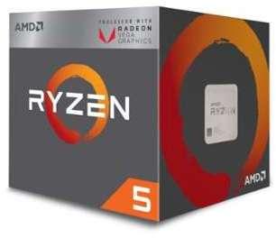 AMD Ryzen 5 2400G with Wraith