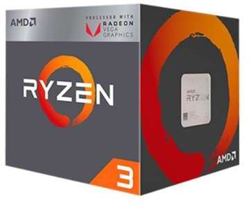 AMD Ryzen 3 2200G with Wraith