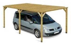 Carport en bois Dolce Vita