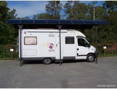 Abri camping car en aluminium
