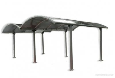 Carport aluminium double