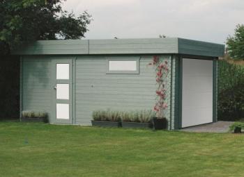 Garage en bois Moderne Solid