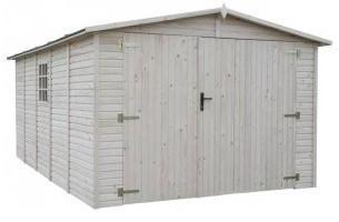 Garage Bois Panneaux 19 mm