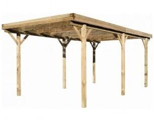 Carport en bois Etna Uno -