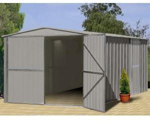 Garage métal TRECO 10x15 Zincalume