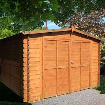 Garage en Bois Royal 34 mm
