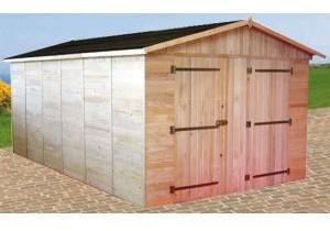 Garage en bois 16mm 2 80 x