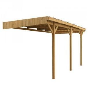 Carport en bois Mezzo 9 C