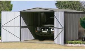 Garage métal TRECO 10x19 Zincalume