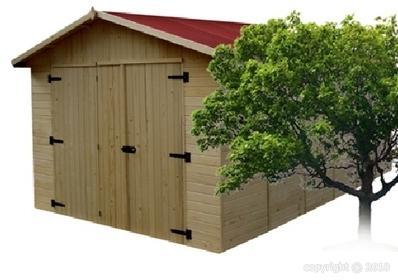 Garage bois EDEN 3x5 20m