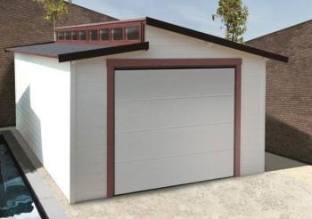 Garage en bois Torino Solid