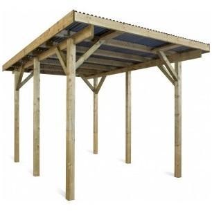 Carport en bois Evolution