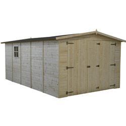 Garage en bois BAIKAL 15 m2