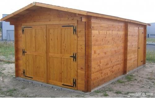 Garage en bois 3 50x6 20m