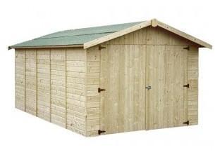 Garage en bois GAPAVIK - 2