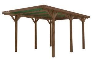 Carport en bois traité ENZO