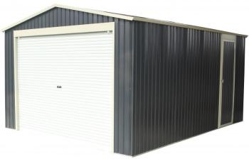 Garage métal anthracite 19