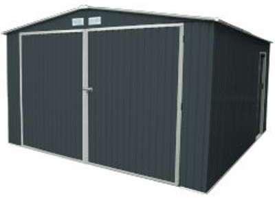 Garage en métal 16 m2 et kit