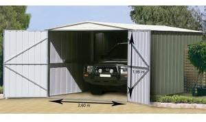 Garage métal G H TRECO 10x19